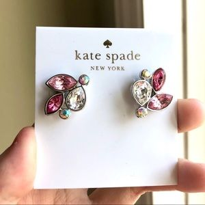 Kate Spade Pink Trio Earrings Stud